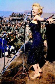 Marilyn Monroe in Korea, 1954