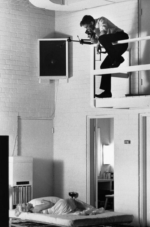 Marilyn Monroe viene fotografata nel 1961