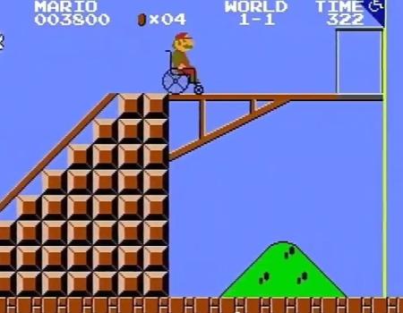 Mario Bros disabilità
