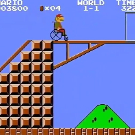 Mario Bros disabilità