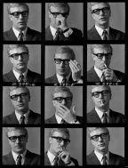 Michael Caine, 1964. Fotografato da Brian Duffy