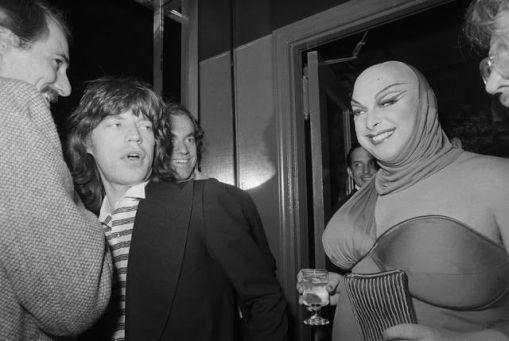 Mick Jagger e Divine
