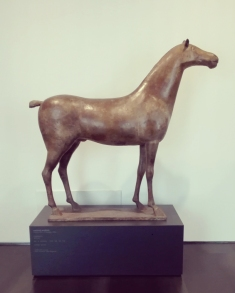 """Museo Novecento Firenze - """"Cavallo"""" (1937 ca) di Marino Marini"""
