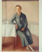 """Museo Novecento Firenze - """"Donna solitaria"""" (1938) di Virgilio Guidi"""