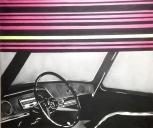 """Museo Novecento Firenze - """"Interno d'automobile"""" (1965) di Mauro Chessa"""
