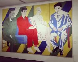 """Museo Novecento Firenze - """"Malcolm X ed altri"""" (1965) di Alberto Moretti"""