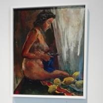 """Museo Novecento Firenze - """"Nudo con la forbice"""" (1938) di Renato Guttuso"""
