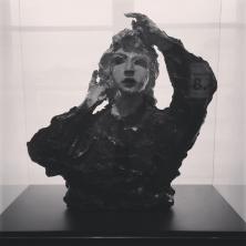 """Museo Novecento Firenze - """"Paulette"""" (1938) di Lucio Fontana"""