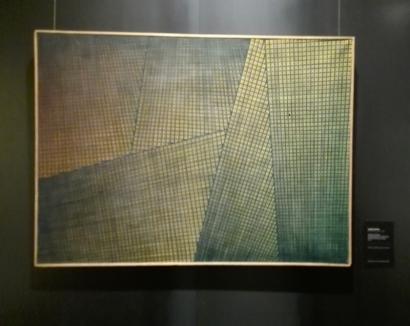 """Museo Novecento Firenze - """"Spazio totale: progressioni iterative ritmiche simultanee"""" (1952) di Mario Nigro"""