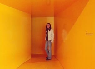 Museo Novecento Firenze - Ingresso del percorso gialo