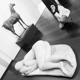Museo Novecento Firenze - Thinking about Perspectives (Sculture: Cavallo by Marino Marini, La Pisana by Arturo Martini)