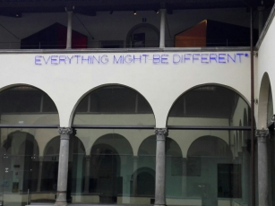 "Museo Novecento Firenze - ""Everything Might Be Different"" (1988) di Maurizio Nannucci"
