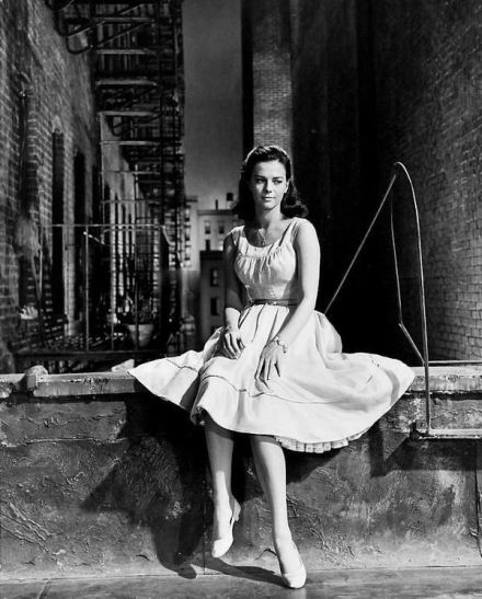 Natalie Wood in West Side Story, 1961