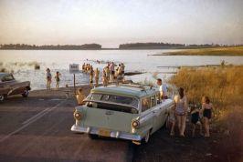 New York. 1958. St. Lawrence Seaway. Foto di Erich Hartmann
