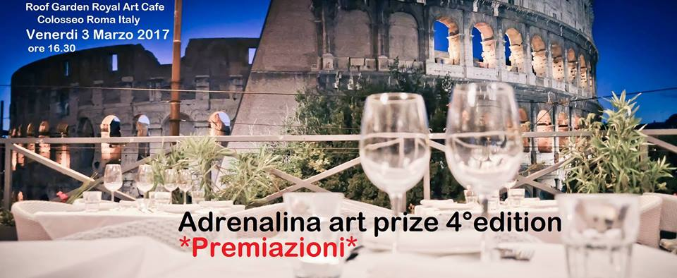 Premiazioni Premio internazionale Adrenalina