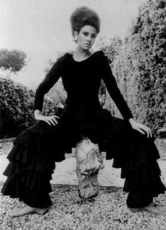 Racquel Welch, 1960–1969. Fotografia di Ugo Mulas