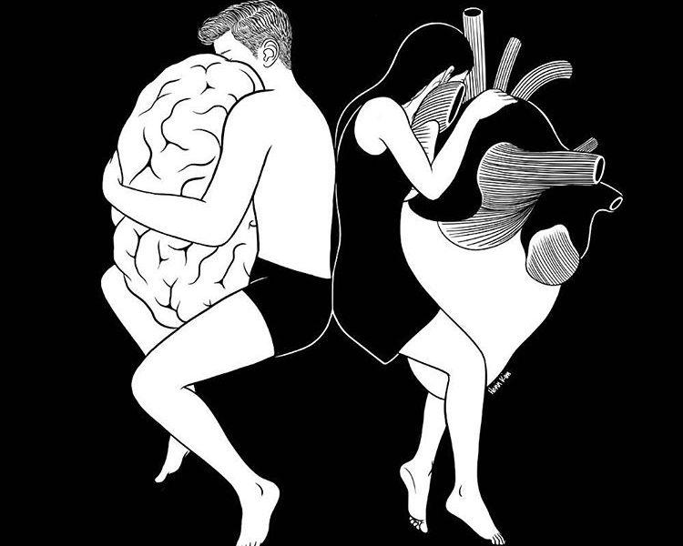"""""""Ragione e sentimento di Jane Austen"""" - Illustrazione di Henn Kim"""
