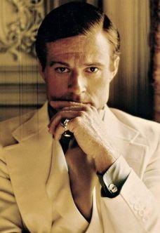 "Robert Redford in ""Il Grande Gatsby"", 1974"