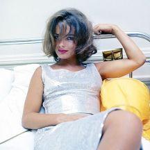 Romy Schneider fotoghrafata da Milton Greene, Monte Carlo, 1963