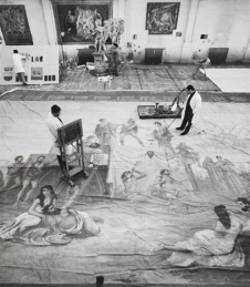 Scenografia , 1967. Fotografia di Ugo Mulas