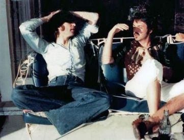 Ultima foto nota di Lennon e McCartney, 1974