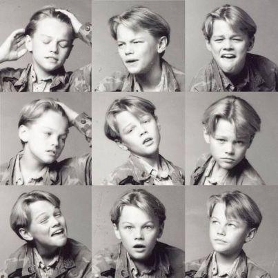 Un giovane Leonardo DiCaprio mostra la sua gamma emotiva