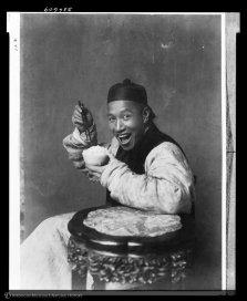 Uomo mangia riso, Cina, 1901-1904
