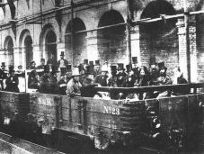 1° percorso ferroviario sotterraneo di Londra 1862