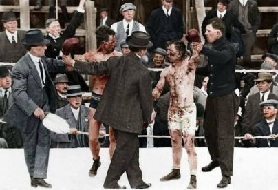1913, incontro tra Ray Campbell e Dick Hyland