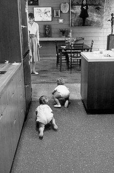 Audrey Hepburn guarda il figlio Sean Ferrer andare in vantaggio su Chris Willoughby