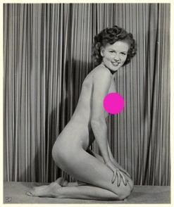 Betty White posando nuda