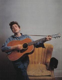 Bob Dylan, 1962. Fotografia di Don Hunstein
