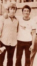 Chuck Norris e Bruce Lee, 1965