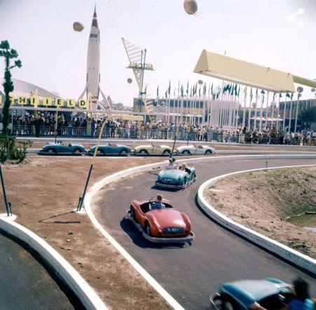 Disneyland. 1955. Fotografia di Loomis Dean