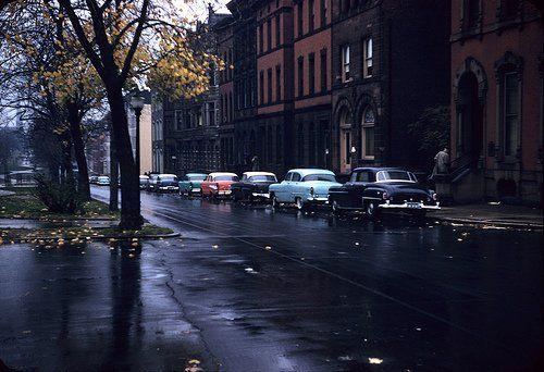 Eutaw Street. Baltimore, Maryland, 1955