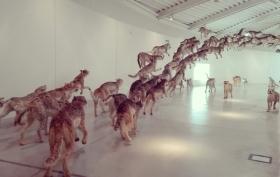 """""""Head on"""" di Cai Guo-Qiang @ Centro Pecci di Prato - La fine del mondo"""