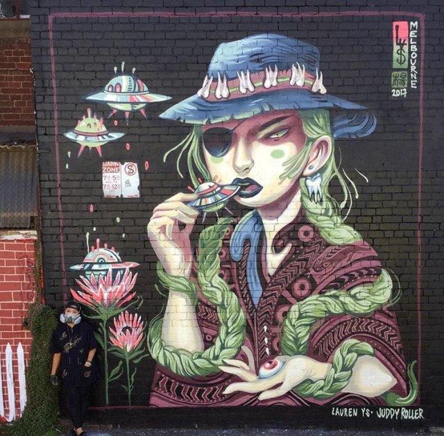 Lauren YS @Fitzroy, Melbourne