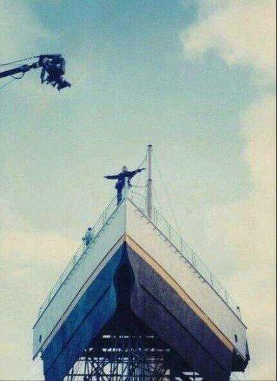 Le riprese di uno dei momenti più rappresentativi della storia del cinema. 1997