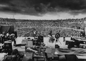 Led Zeppelin in Melbourne, Australia, 1972