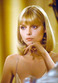 Michelle Pfeiffer in Scarface, 1983