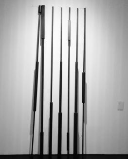 Museo Novecento Firenze - Calibri Inutili (1988) di Carlo Guaita