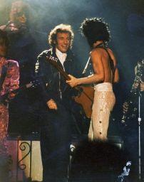 Prince e Bruce Springsteen, anni 80