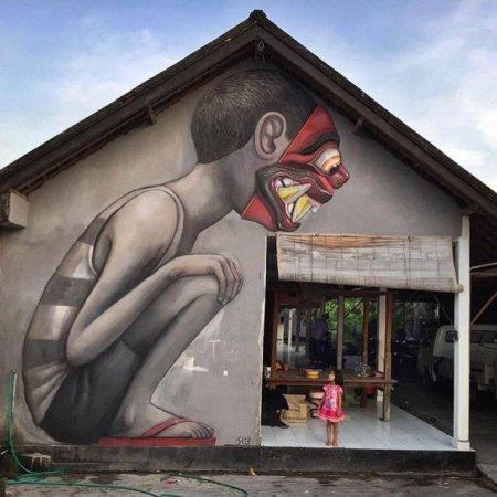 Seth Globepainter @Bali, Indonesia