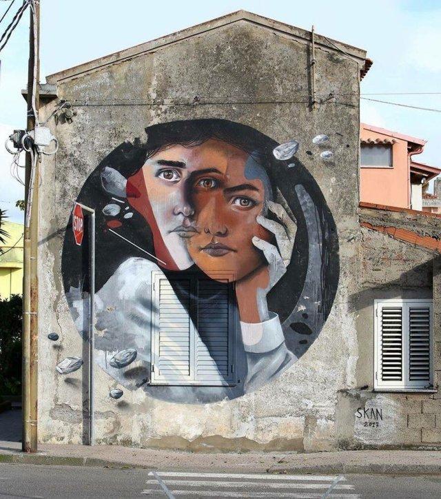 Skan @San Gavino, Sardinia, Italy