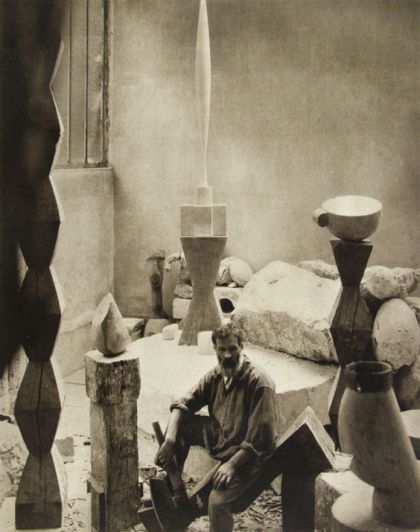 Studio di Constantin Brancusi, Parigi