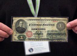 Un dollaro del 1862