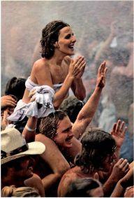 Woodstock sotto la pioggia