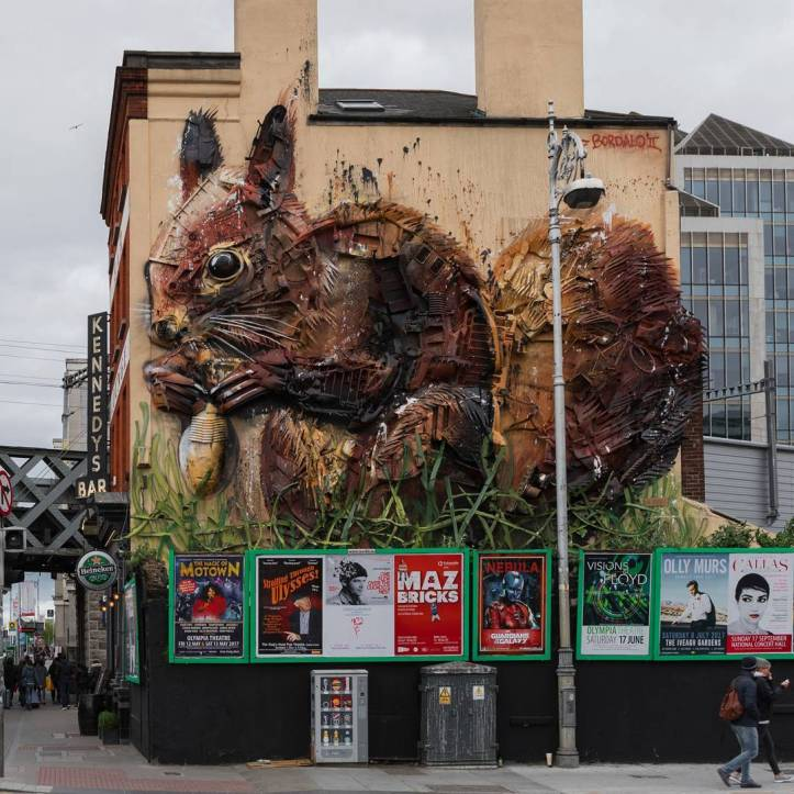 Bordalo II @Dublin, Ireland