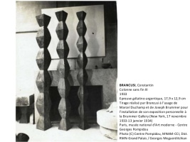 BRANCUSI, Constantin Installation view at Brummer Gallery
