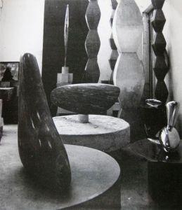 Brancusi Studio a Parigi, 1920